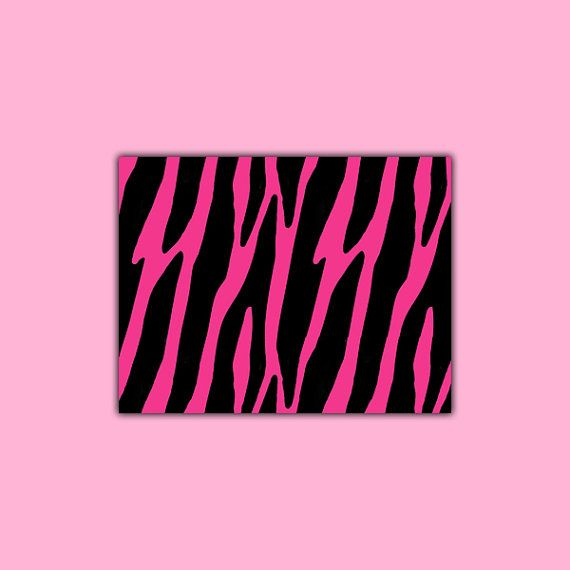 Purple Zebra Print wallpaper border wall decals for teen girls ...