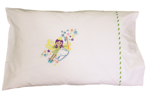 NEW! Tooth Fairy – $30.00 The Tooth Fairy will easily find your little one with this pillowcase!