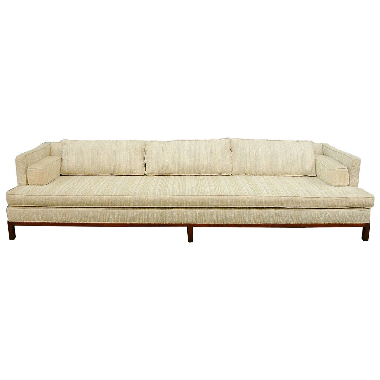 Nine Foot Harvey Probber Shelter Sofa | sofas and daybeds ...