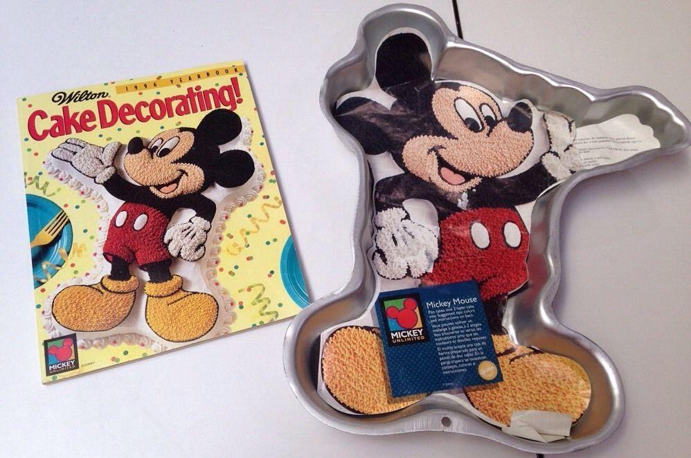 mickey mouse cake pan full body