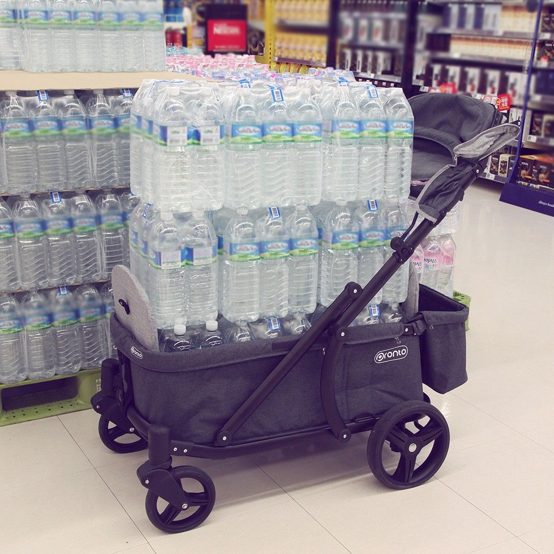 """The most robust stroller wagon """"PRONTO"""" Stroller, Wagon"""
