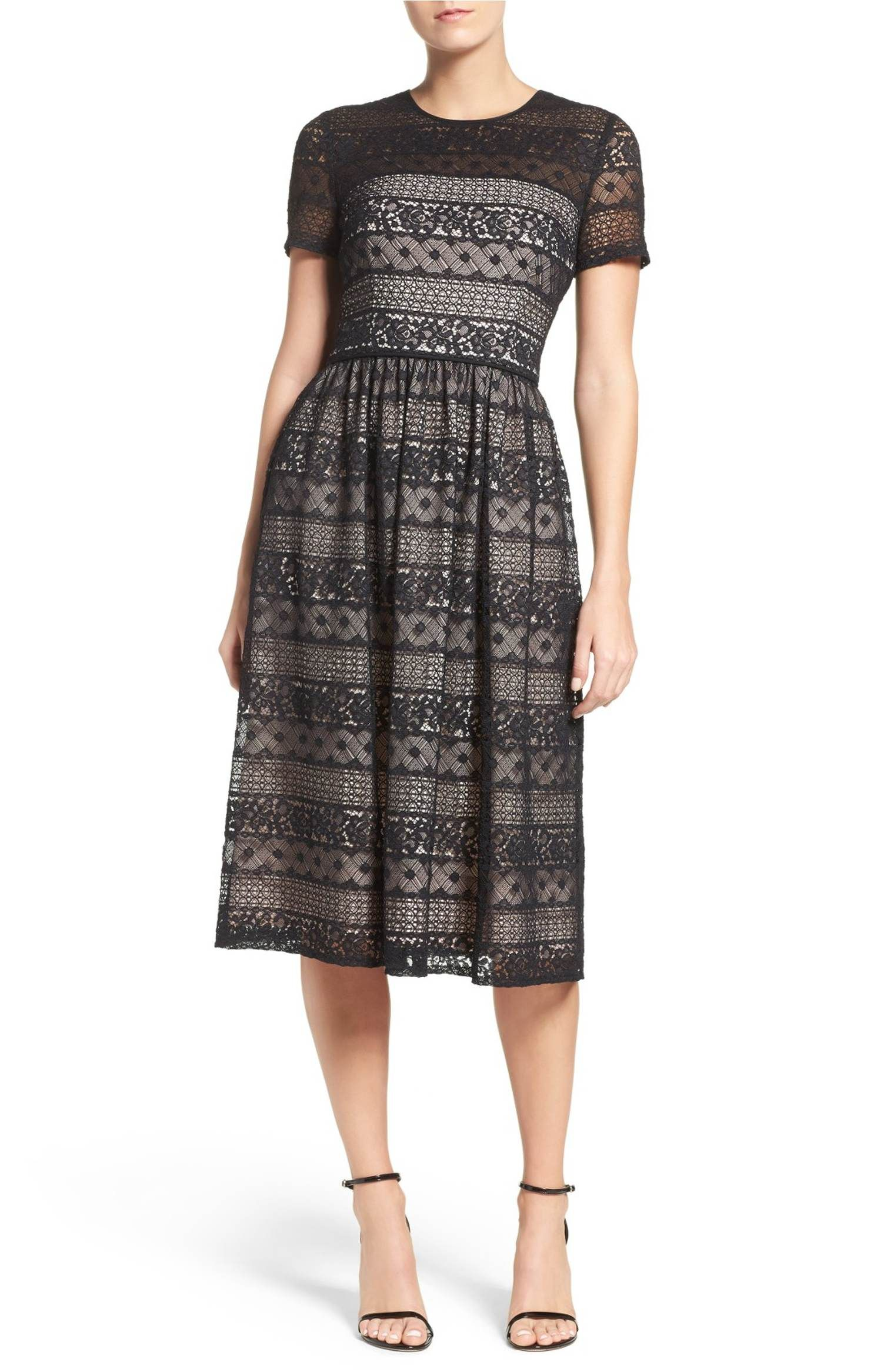 Main Image Maggy London Lace Midi Dress Dress Me Up Pinterest