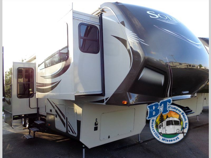 New 2015 Grand Design Solitude 379FL Fifth Wheel at BT Camper | Wentzville, MO | #7072