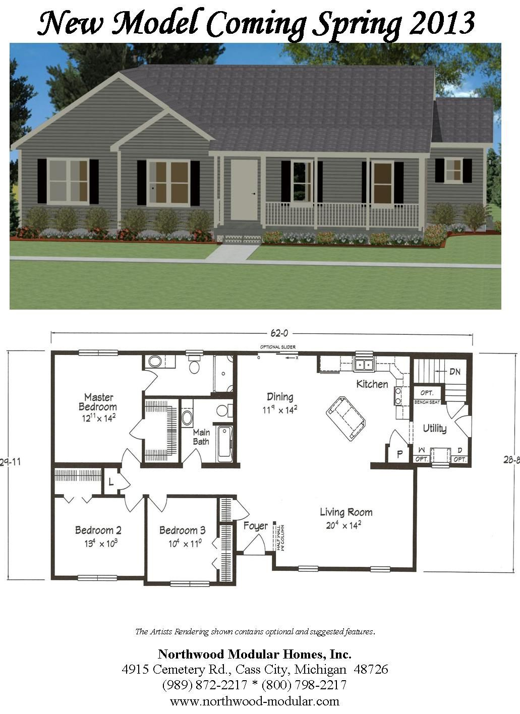 Our new model is in and looks fabulous! #ranch #threebedrooms Go to ...