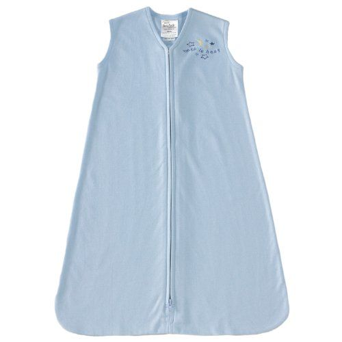 HALO SleepSack 100% Cotton Wearable Blanket, Baby Blue, X-Large - http://www.discoverbaby.com/maternity-clothes/sleepwear/halo-sleepsack-100-cotton-wearable-blanket-baby-blue-x-large/