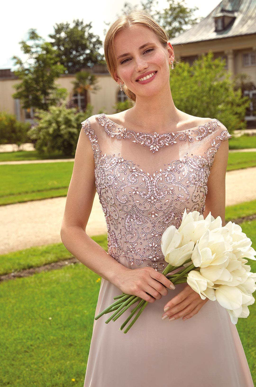 Festliches Kleid Ilena By Kleemeier Kollektion 2020 Maxikleid Abendkleid Evening Dress Festliche Kleider Kleider Festliches Kleid
