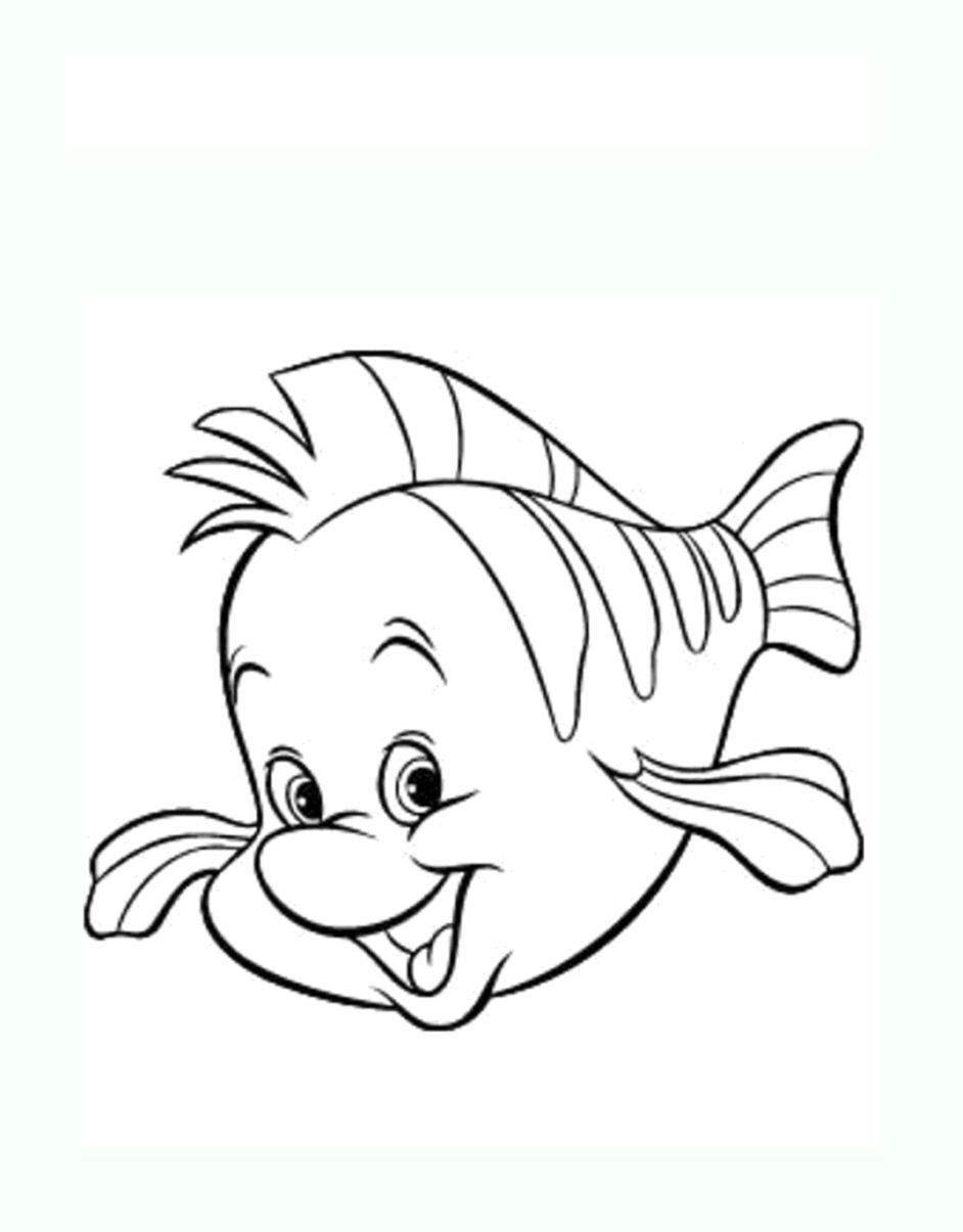 Coloriage de poissons coloriages pour enfants - Dessin de poisson ...