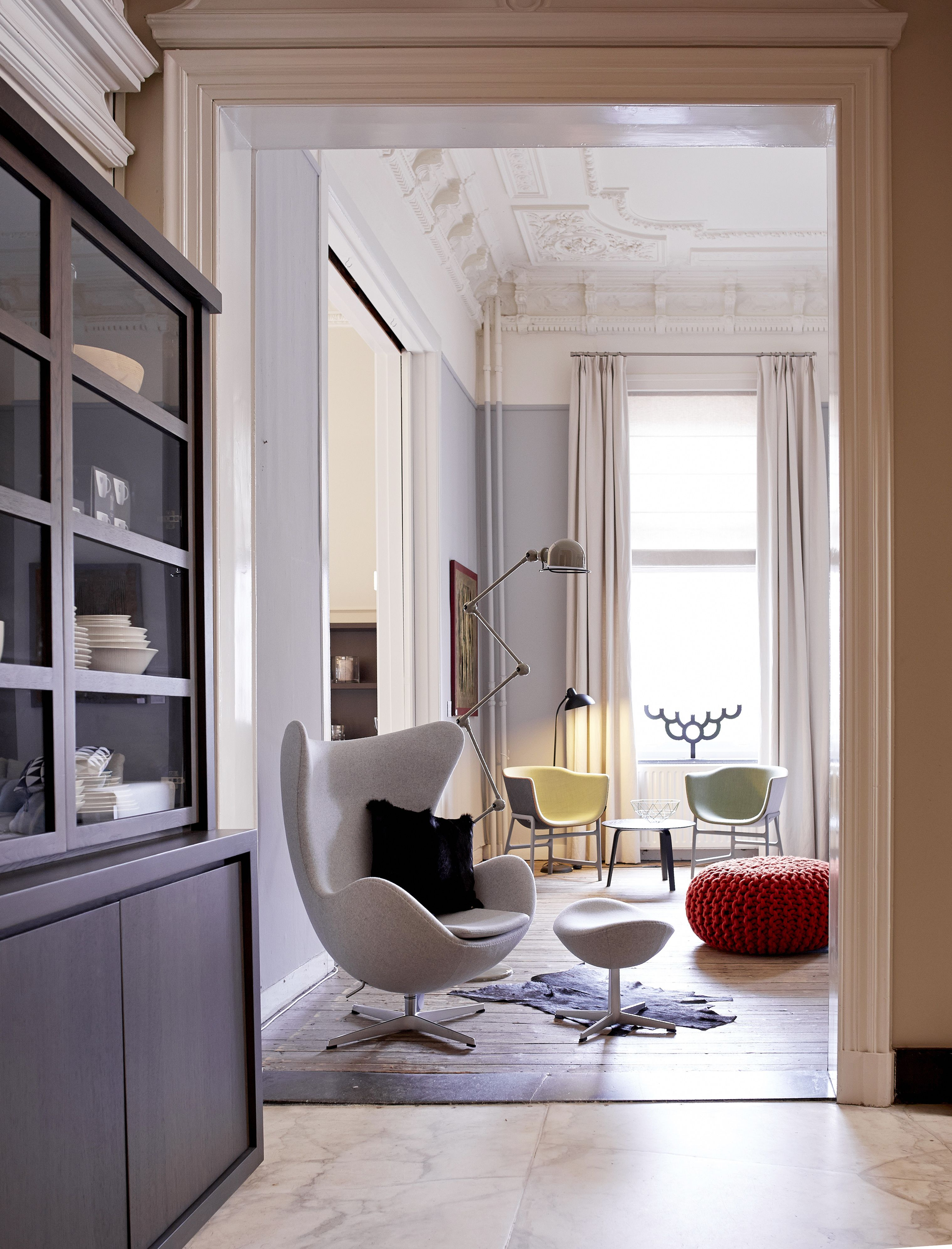 egg chair fritz hansen servieskast scapa home. Black Bedroom Furniture Sets. Home Design Ideas