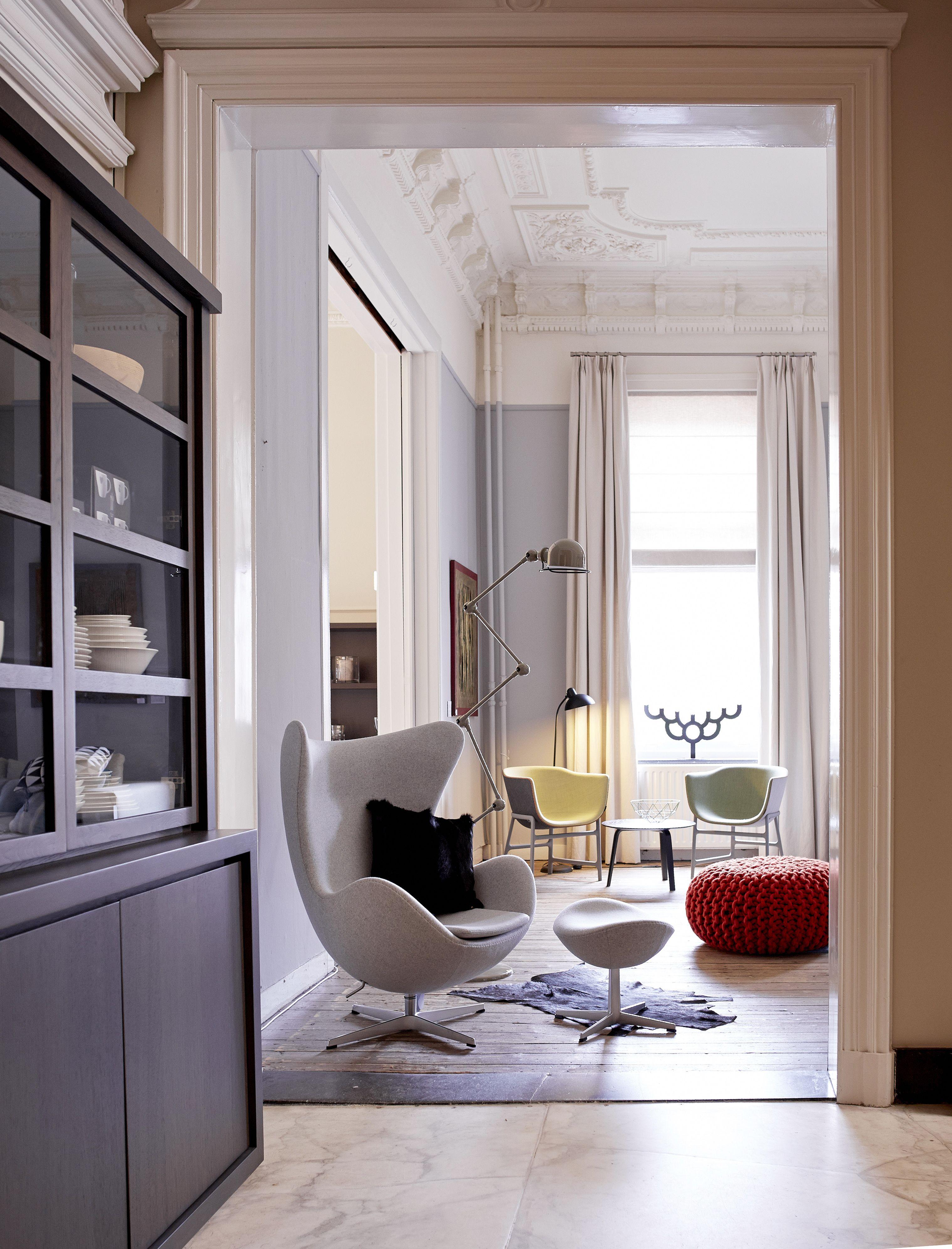 egg chair fritz hansen servieskast scapa home gebreide poef christien meindertsma. Black Bedroom Furniture Sets. Home Design Ideas