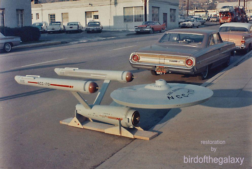 Original eleven foot enterprise 122964 burbank ca uss