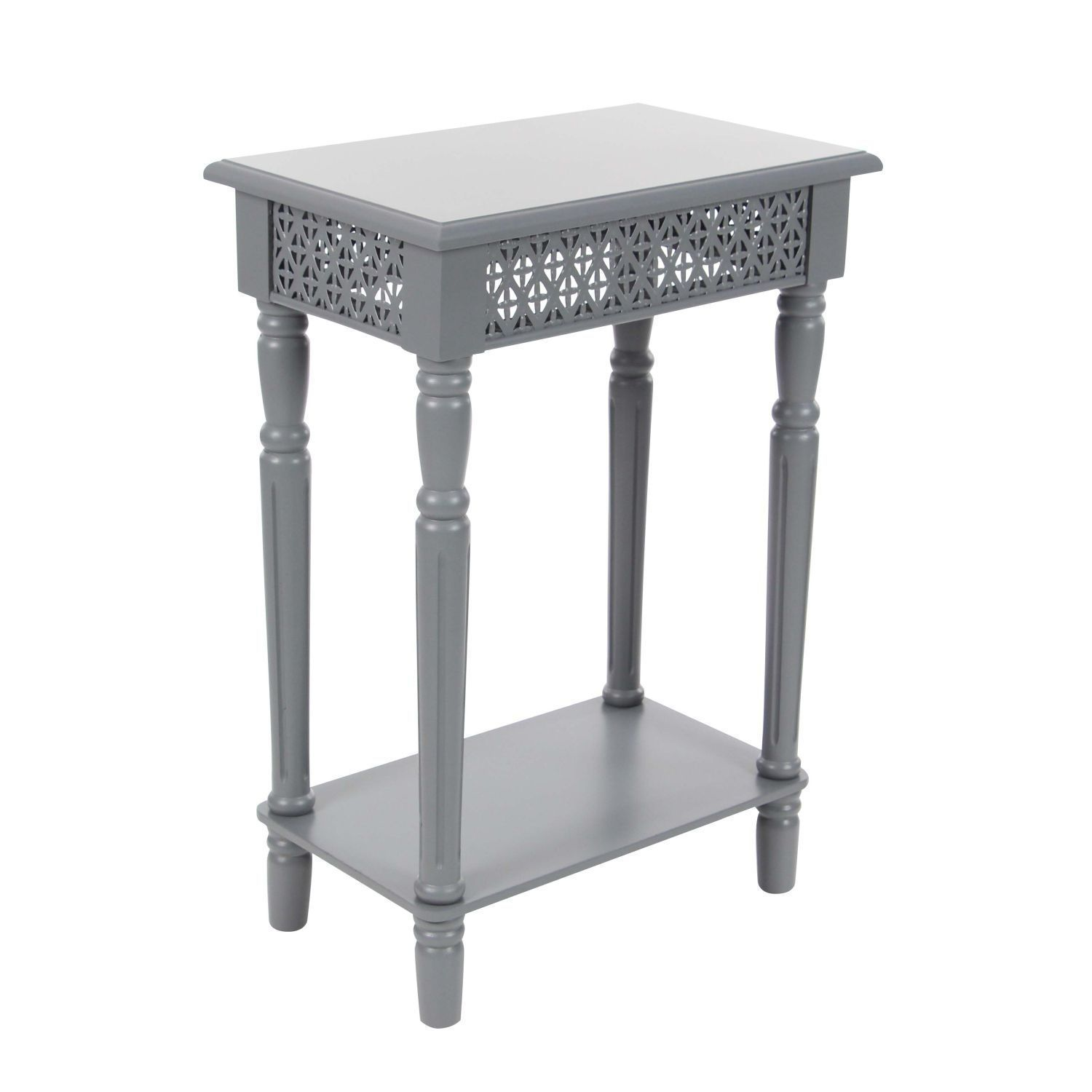 Surprising Studio 350 Wood Grey Side Table 18 Inches Wide 27 Inches Ibusinesslaw Wood Chair Design Ideas Ibusinesslaworg