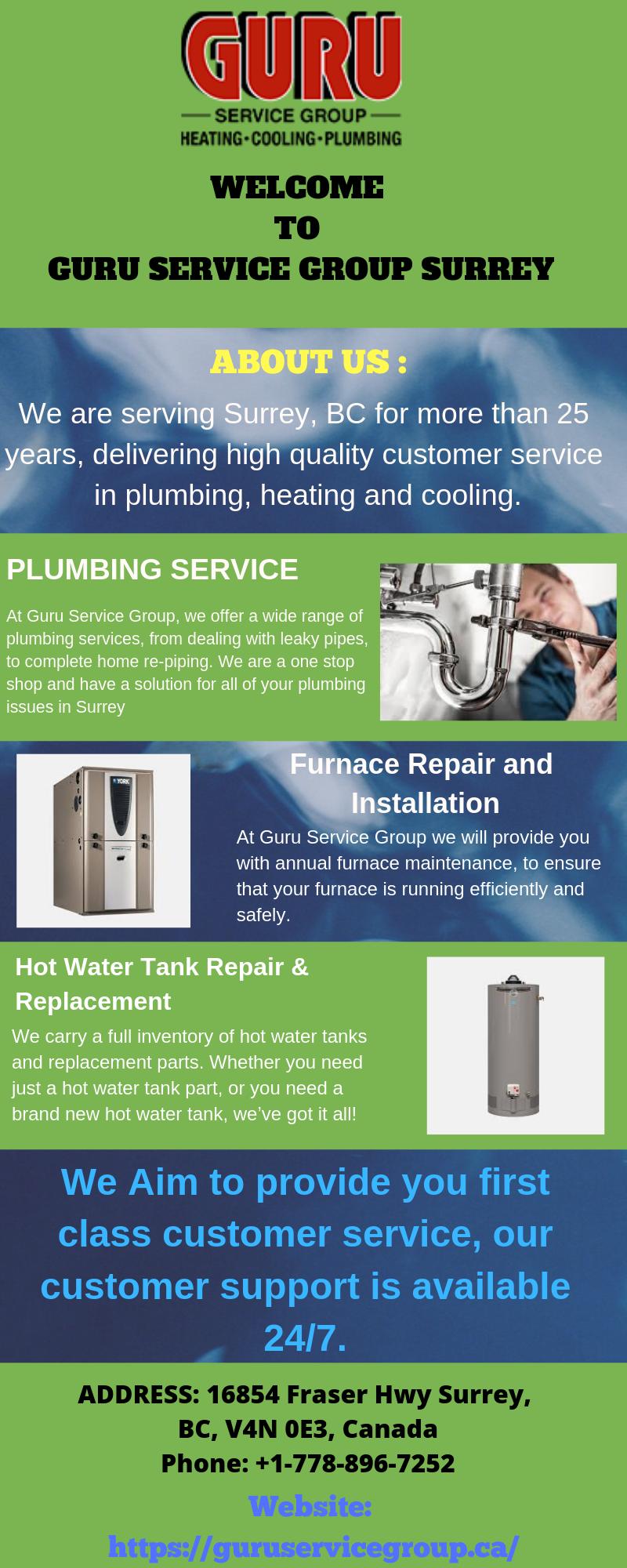 Commercial Plumbing Services Guru Service Group Surrey