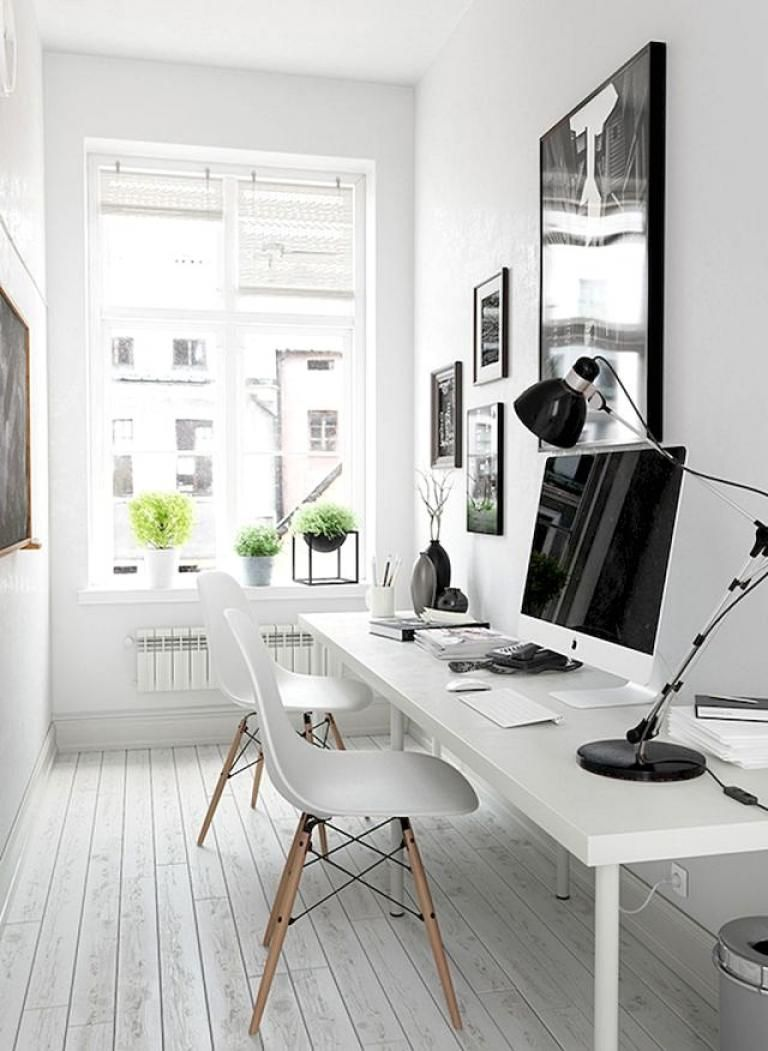30 Modern Workspace Design Ideas Small Spaces Tiny Home Office Modern Home Offices Small Office Design
