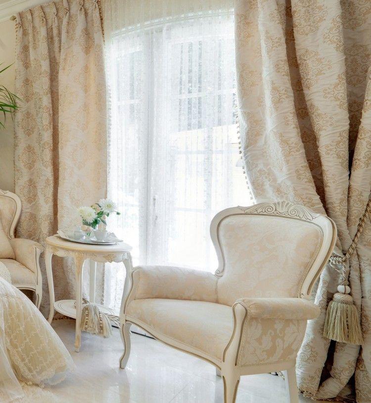 35 Barock Gardinen und Vorhänge mit edlen Mustern | Haus ...