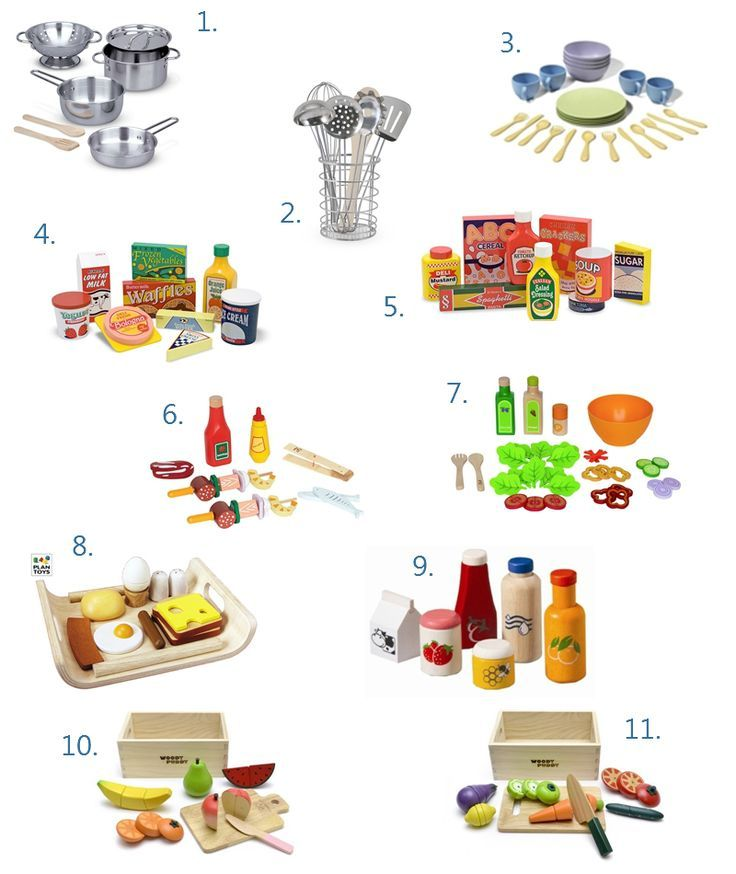 Play Kitchen Food And Accessories Basics Wishlist Play Kitchen