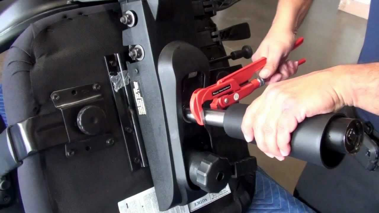 Office Chair Cylinder Base Removal Replacement