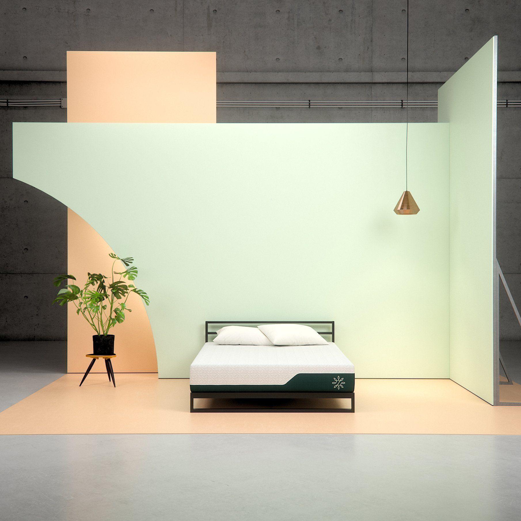 Pressure Relief Euro Top Icoil Hybrid Mattress Adjustable Bed Frame Furniture Furniture Styles