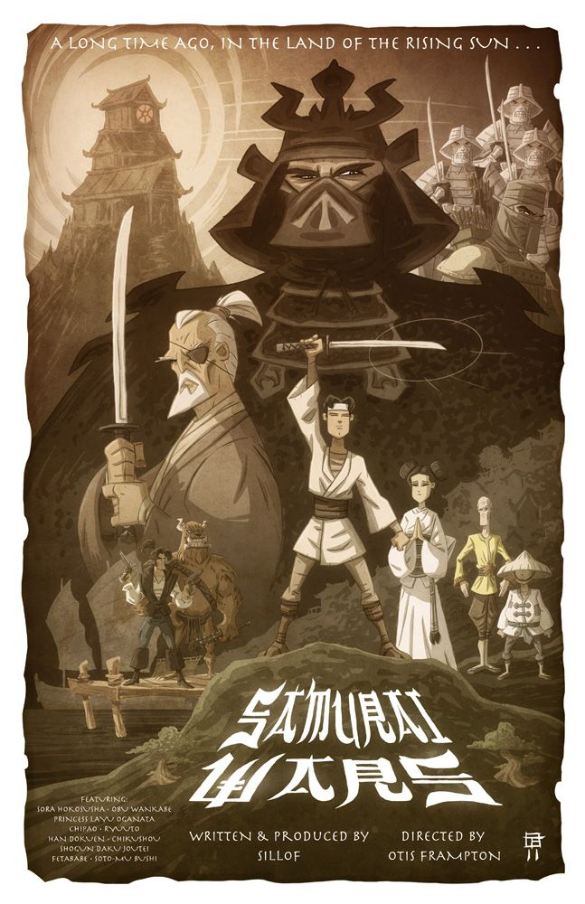Samurai Wars (Star Wars) - This is so Quinn, I can barely stand it.