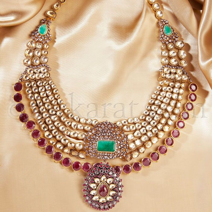 0f95441cc23c30 Naulakha with a twist African Jewelry, India Jewelry, Bridal Jewelry, Gold  Jewelry,