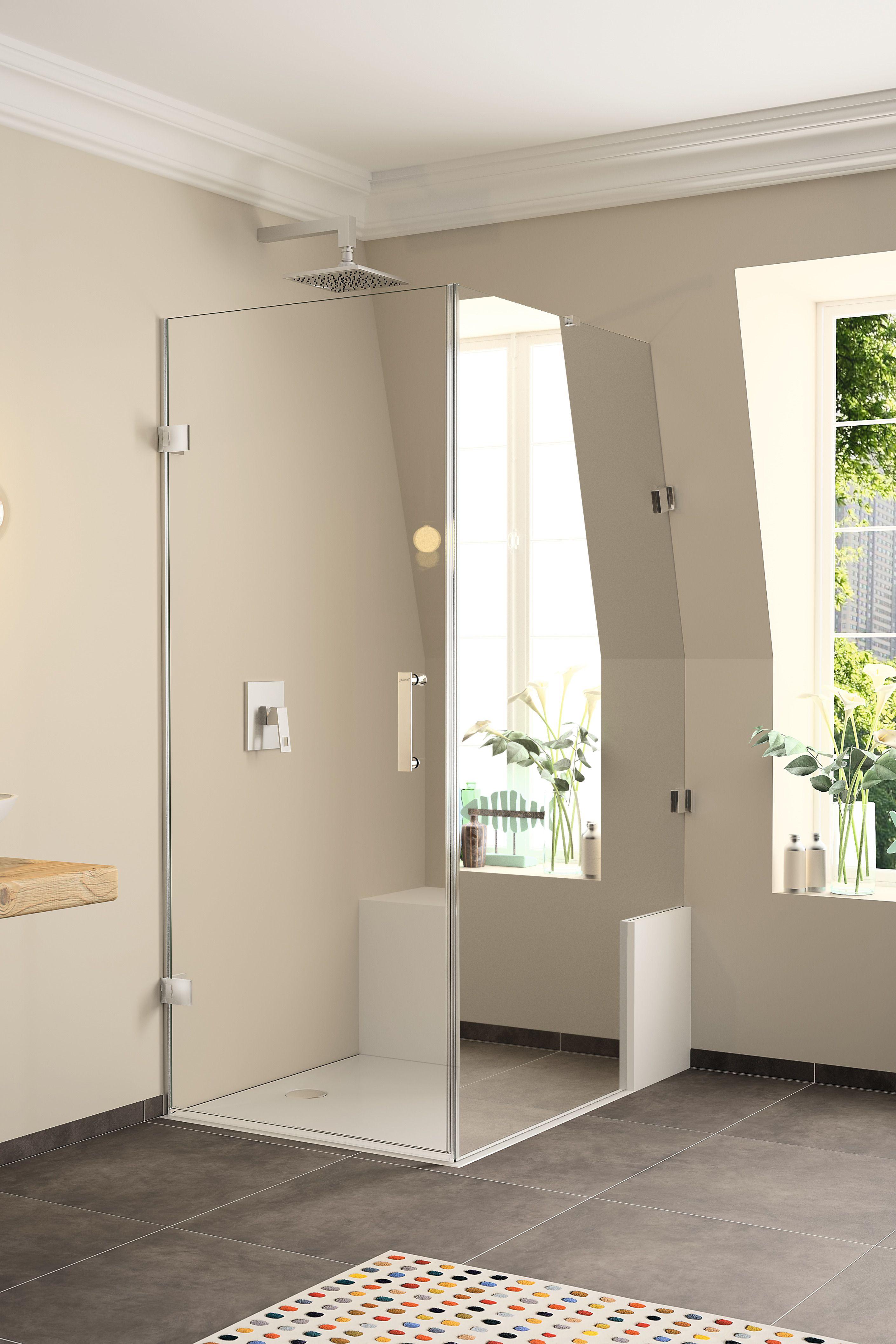 Duschabtrennung Badewanne Bilder Salle De Bain Design Bains