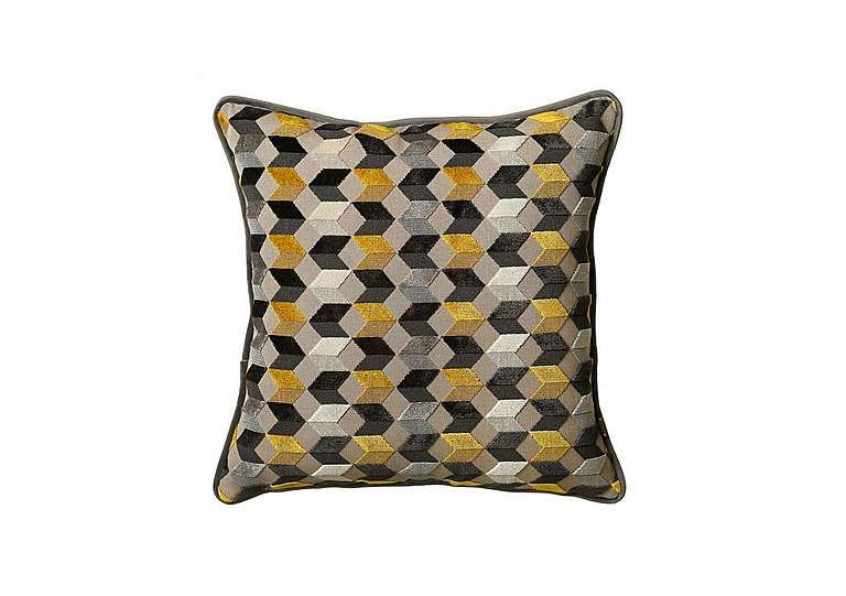Charming Shop Now For The Kingsley Charcoal Cushion At Furniture Village   It Is A  Luxurious, Contemporary Feather Filled Cushion With A Geometric Pattern.
