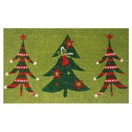 Xmas Tree Doormat
