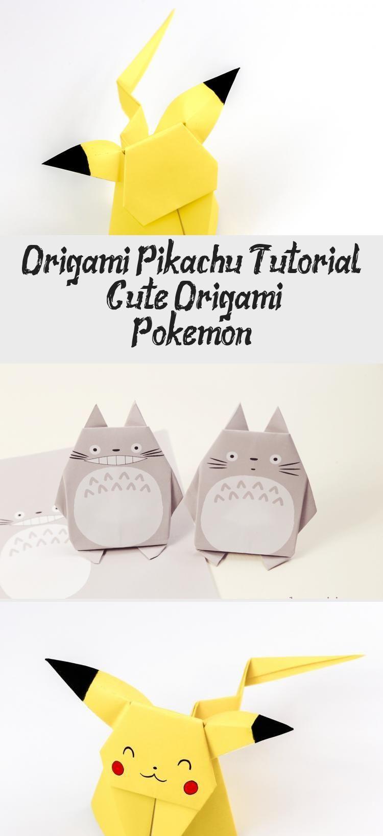Photo of Origami Pikachu Tutorial – Cute Origami Pokemon! – Paper Kawaii #origamiDress #o…,  #cute #…