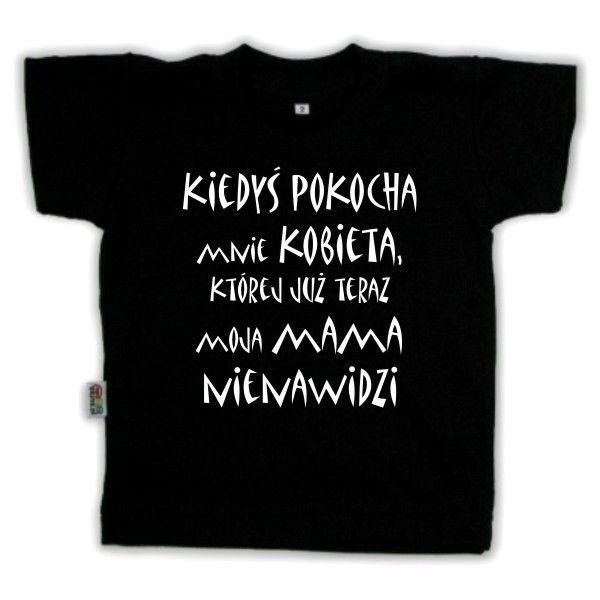 Koszulka dziecięca - kiedyś pokocha mnie kobieta z FamilyInBlack.pl