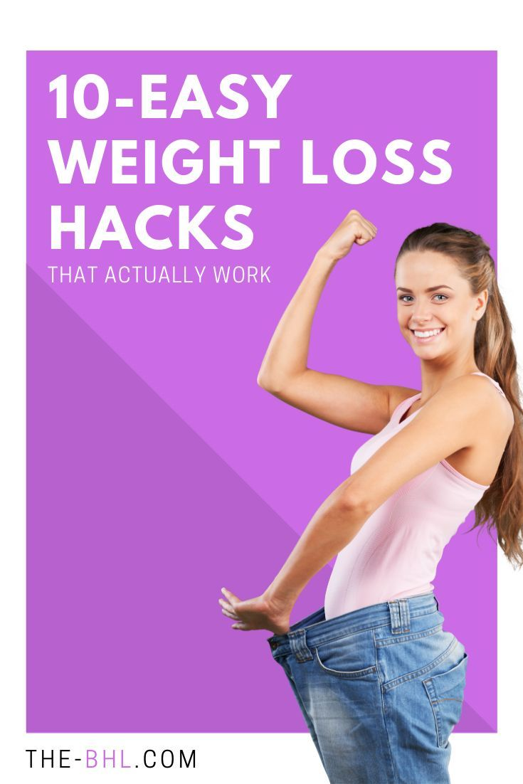 10 Easy Weight Loss Hacks That Actually Work images