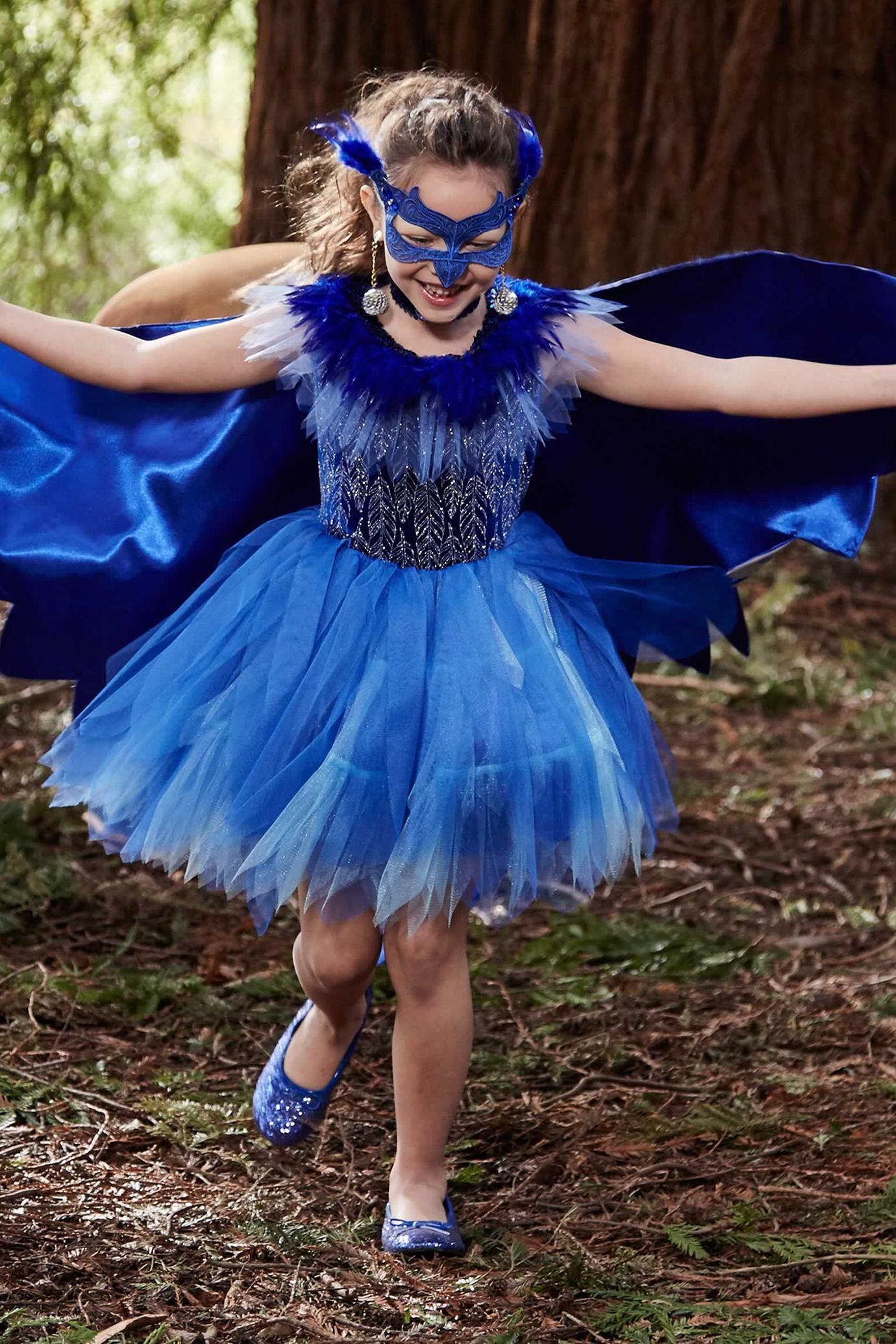Pretty Bluebird Costume For Girls   Chasingfireflies  92.00 43e8179471a0