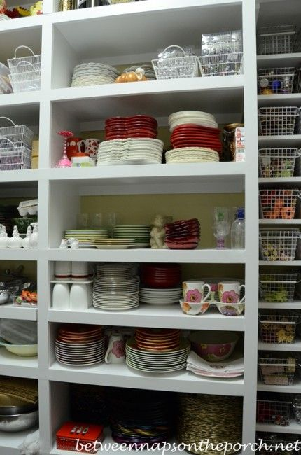dish storage a serious case of pantry envy dish storage pantry storage kitchen organization on kitchen organization dishes id=28340