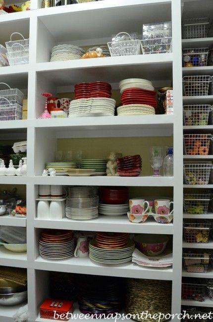 Dish Storage U0026 A Serious Case Of Pantry Envy