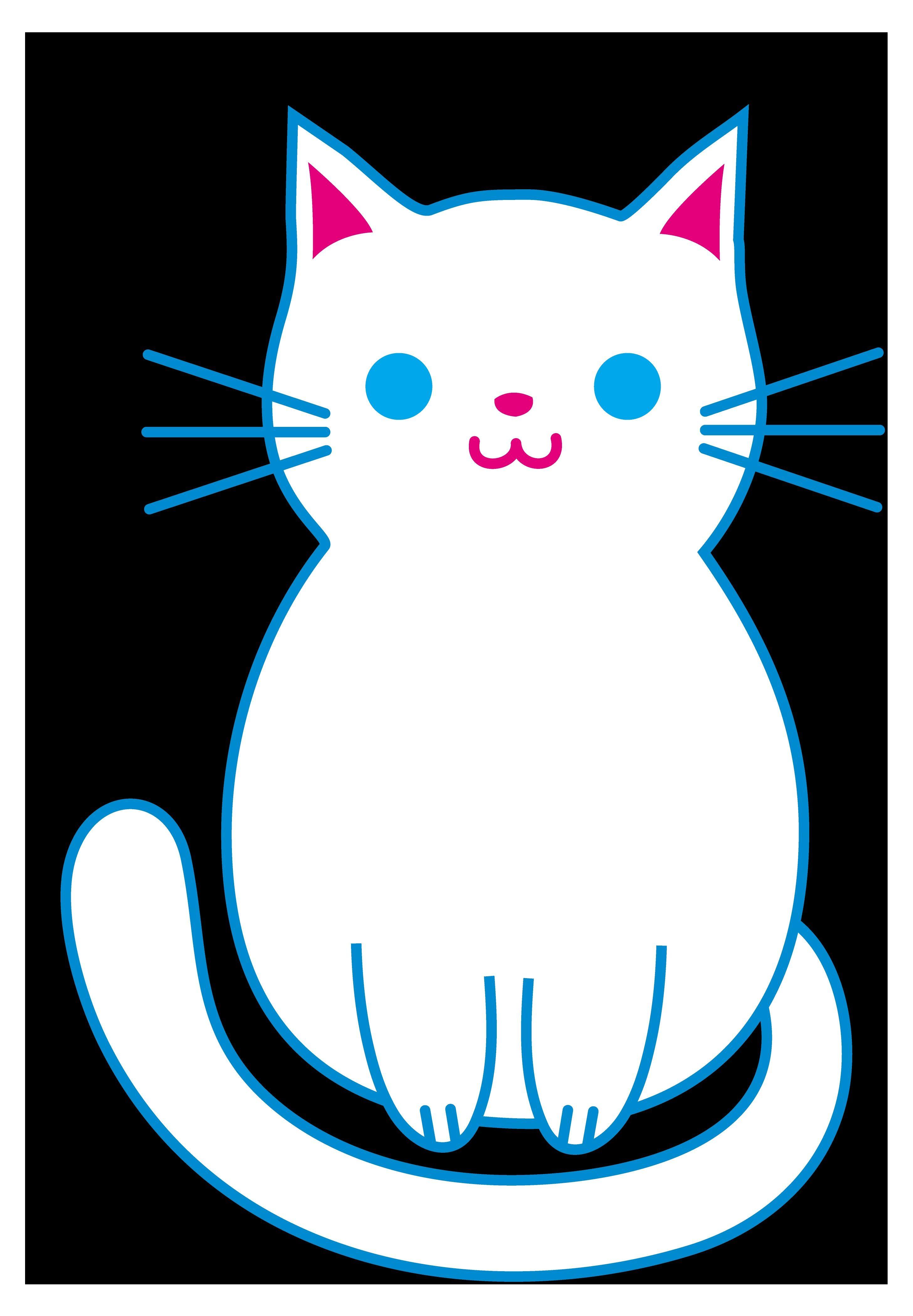 Download SCAL SVG Cat | Cat art, Cute cats, Art