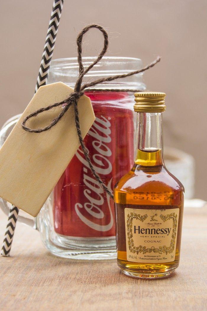 Mini Mason Jar Hennessy and Coke Gift Set | Hennypalooza | Hennessy