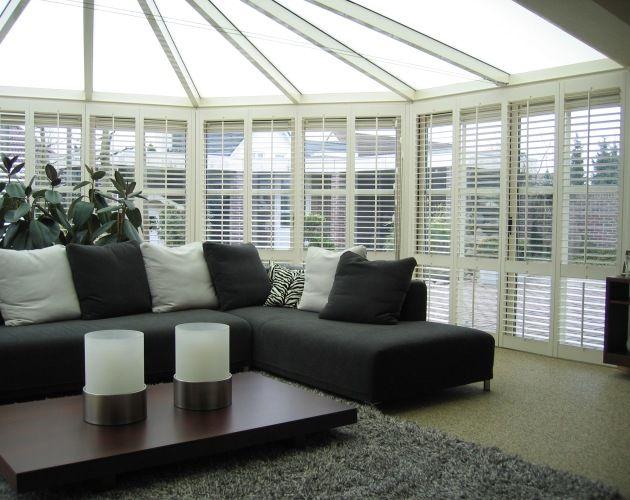 beautiful shutters from jasno shutters sun lounge