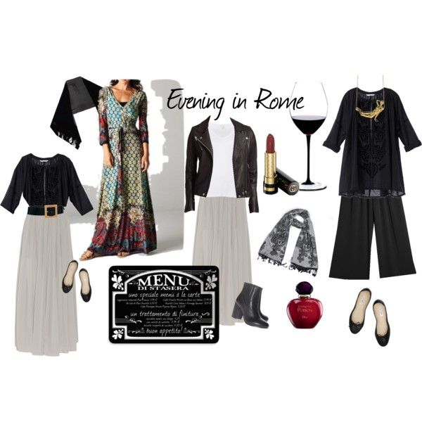 Evening in Rome by victoria-827 on Polyvore featuring Victoria's Secret, Witchery, IRO, Enza Costa, MANGO, Ash, Bagllerina, MARTI, MICHELLE WINDHEUSER and Black & Brown London
