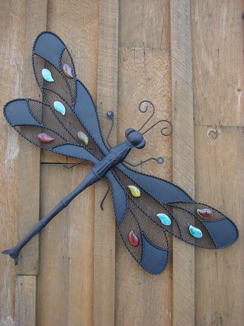 Gemstone Dragonfly Wall Décor 2020