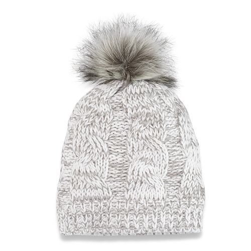57ad24bcfd8f Women s SONOMA Goods for Life™ Cable-Knit Pom Pom Hat