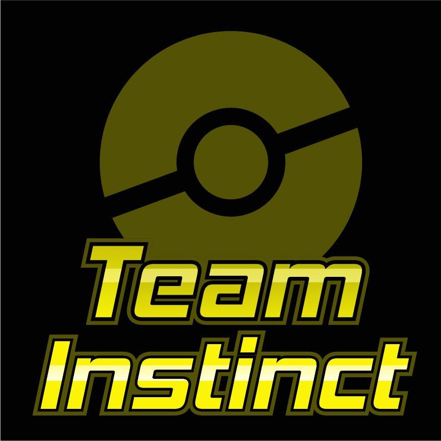 a27d1cadd523 Team Instinct Yellow Team Pokemon Go Logo Pokemon Zapdos