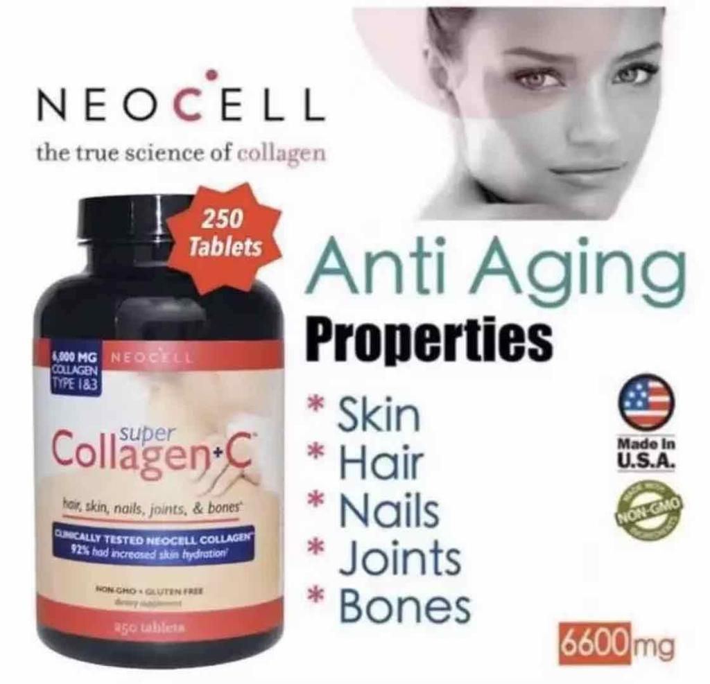 Neocell Super Collagen C Good For 4 Months Neocell Super Collagen Collagen Skin Collagen