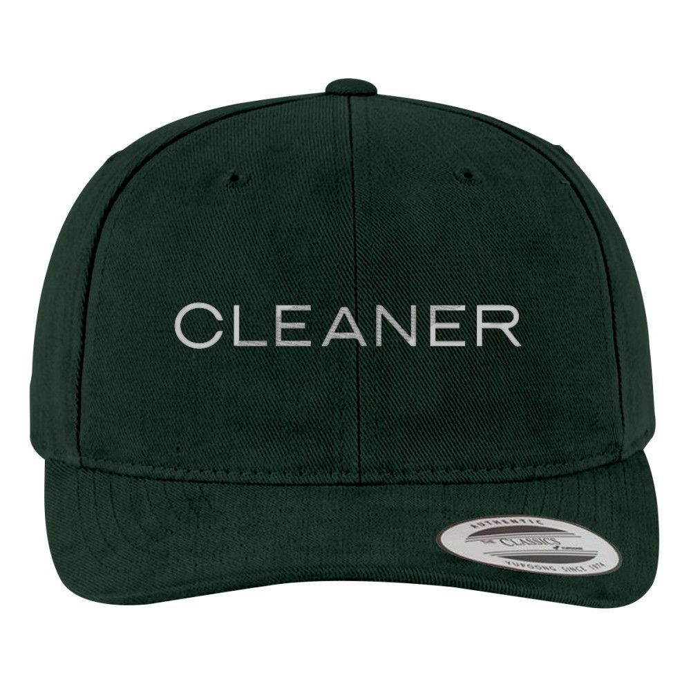 Broad City Cleaner Brushed Embroidered Cotton Twill Hat