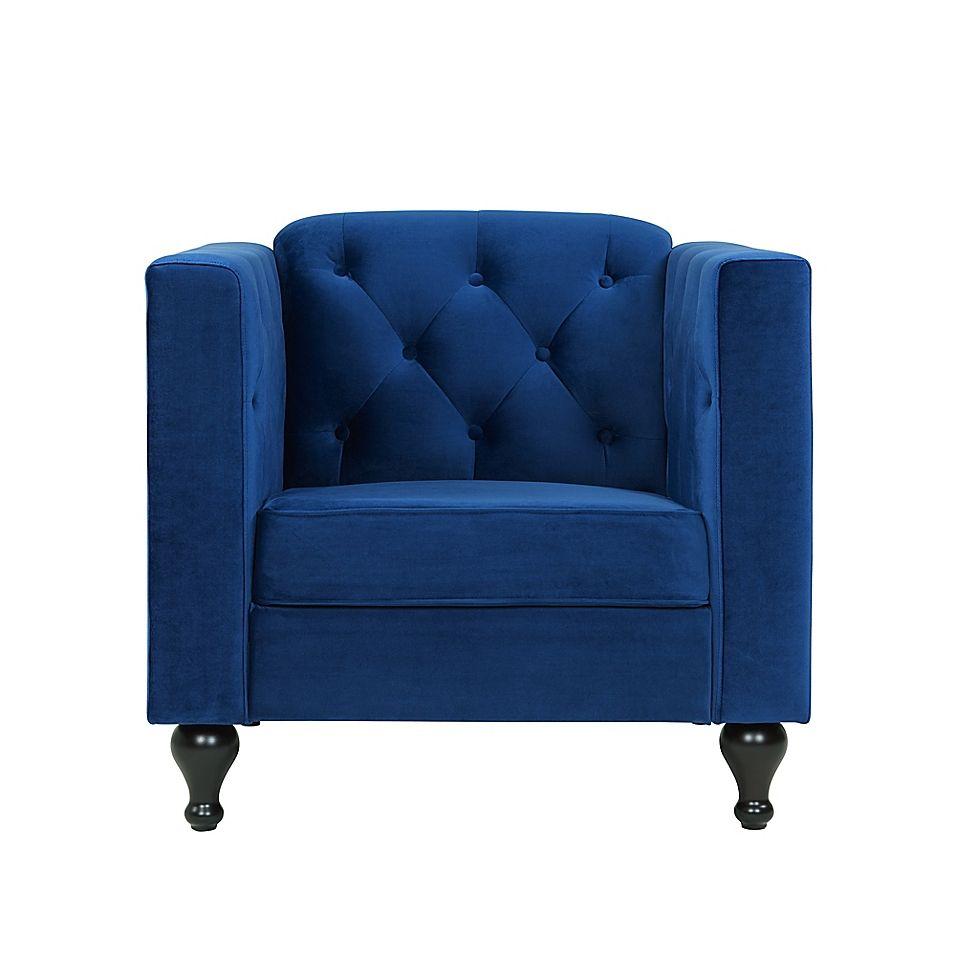 Sofas 2 Go Sarah Armchair In Sapphire | Furniture ...