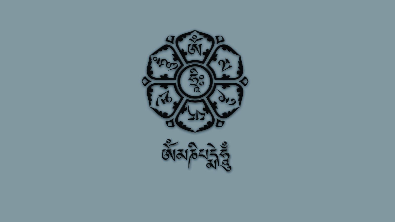Om Mani Padme Hum Hd Wallpapers Images Free Download Om Mani Padme Hum Buddha Art Padme