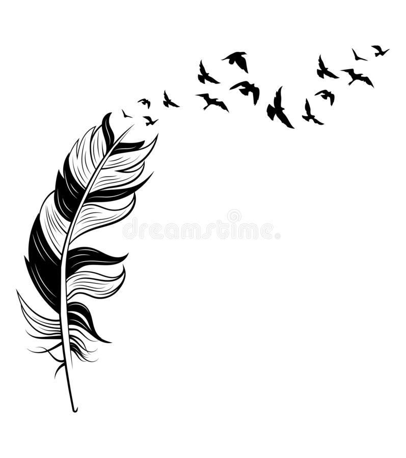 Beautiful Bird Tattoo Black White Stock White Bird Tattoos Bird Silhouette Tattoos Black Tattoos