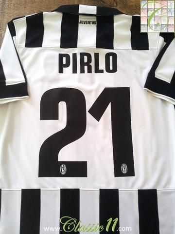 Relive Andrea Pirlo s 2014 15 Serie A season with this original Nike Juventus  home football shirt. 66fe1a080
