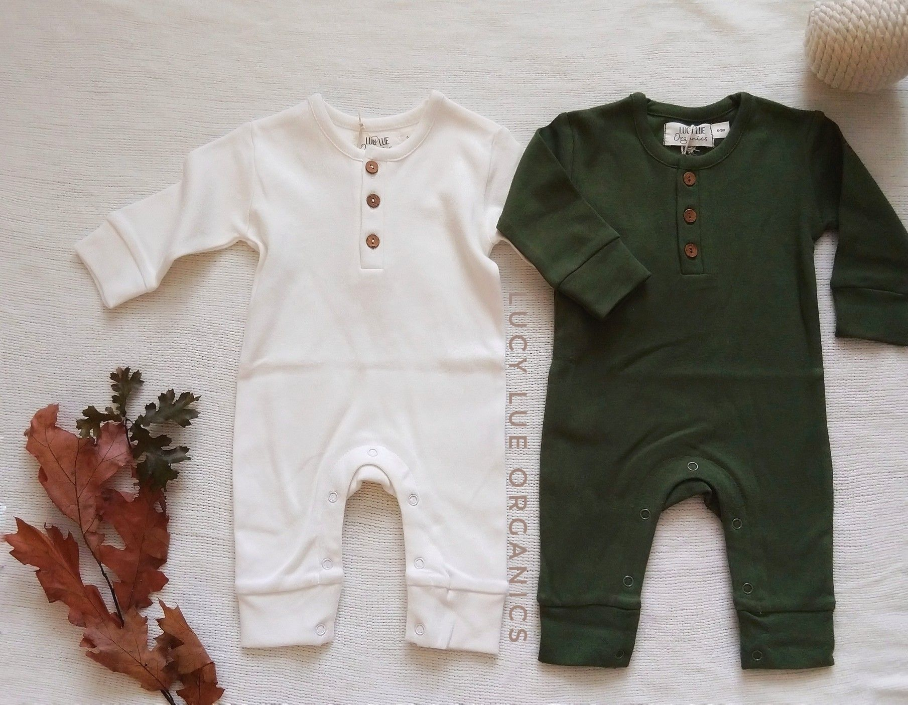 Love at first sight! For the best in modern organic baby clothes