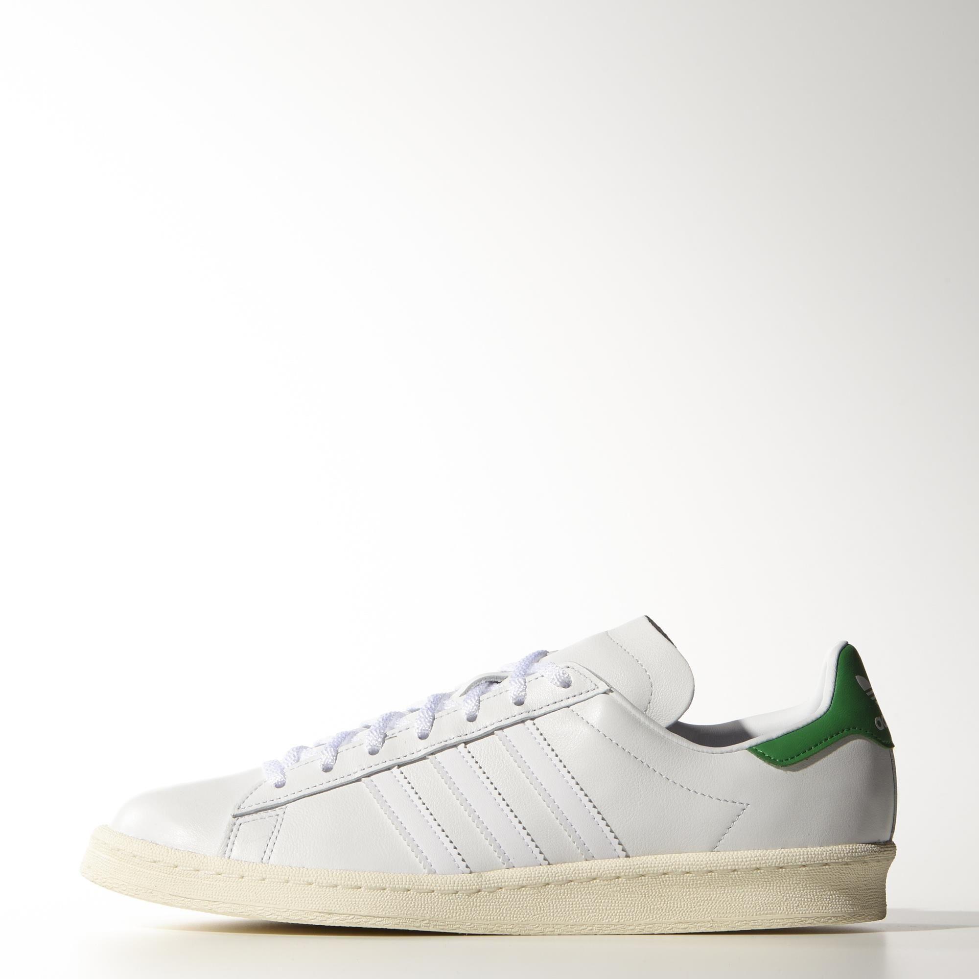 Adidas Originals Campus 80s Nigo White/Green/Cream White Shoes For Men