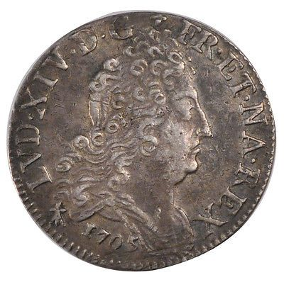 #France, 10 sols aux #couronnes de metz, 10 sols-1/8 ecu, #1705, metz, km #348.1,,  View more on the LINK: 	http://www.zeppy.io/product/gb/2/321906266112/