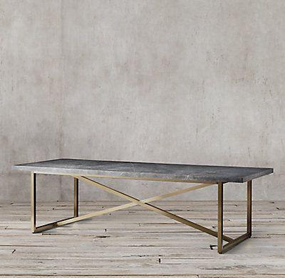 Torano Marble Rectangular Dining Table Marble Top Dining Table