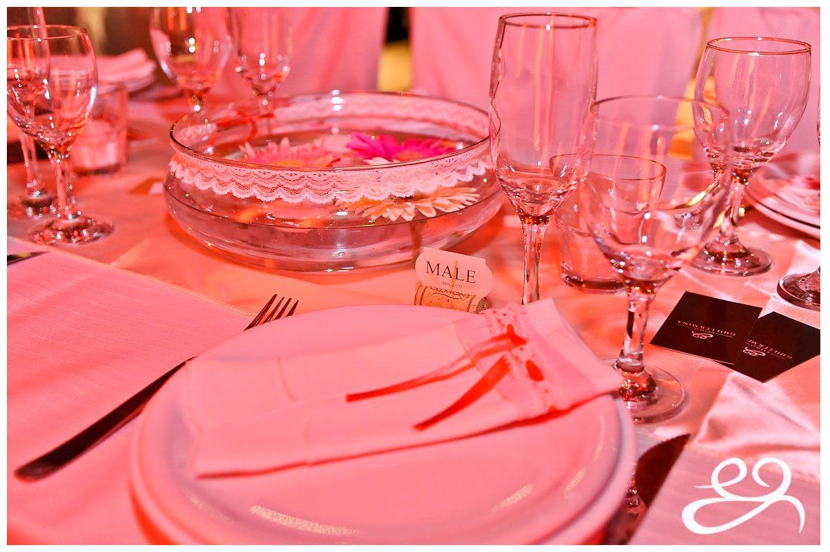 Los 15 de Male M Pallero! Gerberas combinadas, puntillas, cintas, rosas, detalles, romántico naif